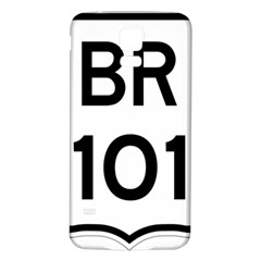 Brazil BR-101 Transcoastal Highway  Samsung Galaxy S5 Back Case (White)