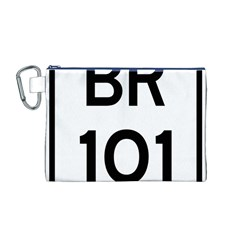 Brazil BR-101 Transcoastal Highway  Canvas Cosmetic Bag (M)