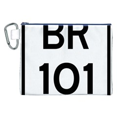 Brazil BR-101 Transcoastal Highway  Canvas Cosmetic Bag (XXL)