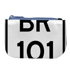 Brazil BR-101 Transcoastal Highway  Large Coin Purse