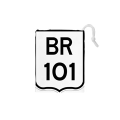 Brazil BR-101 Transcoastal Highway  Drawstring Pouches (XS)