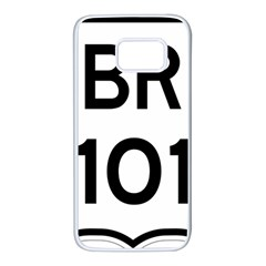 Brazil BR-101 Transcoastal Highway  Samsung Galaxy S7 White Seamless Case