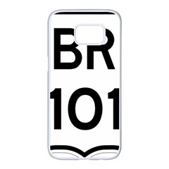 Brazil BR-101 Transcoastal Highway  Samsung Galaxy S7 edge White Seamless Case