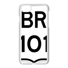 Brazil BR-101 Transcoastal Highway  Apple iPhone 7 Seamless Case (White)