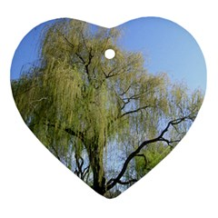 Willow Tree Ornament (Heart)