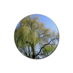 Willow Tree Rubber Coaster (Round)
