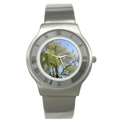 Willow Tree Stainless Steel Watch