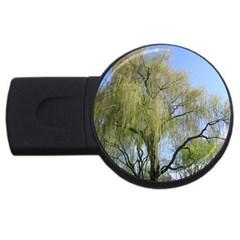 Willow Tree USB Flash Drive Round (4 GB)
