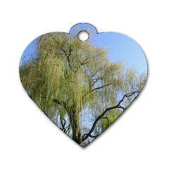 Willow Tree Dog Tag Heart (Two Sides)