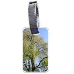 Willow Tree Luggage Tags (One Side)