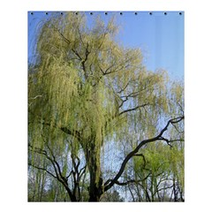 Willow Tree Shower Curtain 60  x 72  (Medium)