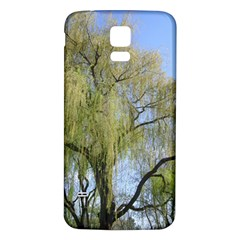 Willow Tree Samsung Galaxy S5 Back Case (White)
