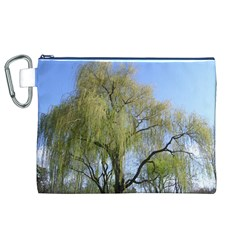 Willow Tree Canvas Cosmetic Bag (XL)