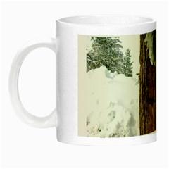 Winter Tree At Bogus Basin Night Luminous Mugs