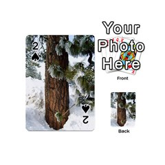 Winter Tree At Bogus Basin Playing Cards 54 (Mini)