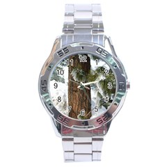 Winter Tree At Bogus Basin Stainless Steel Analogue Watch
