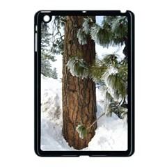 Winter Tree At Bogus Basin Apple iPad Mini Case (Black)