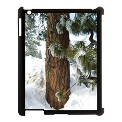 Winter Tree At Bogus Basin Apple iPad 3/4 Case (Black)