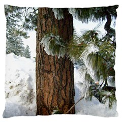 Winter Tree At Bogus Basin Standard Flano Cushion Case (Two Sides)