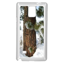 Winter Tree At Bogus Basin Samsung Galaxy Note 4 Case (White)