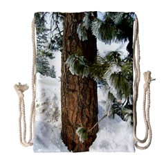 Winter Tree At Bogus Basin Drawstring Bag (Large)
