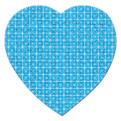 simple rectangular pattern Jigsaw Puzzle (Heart)