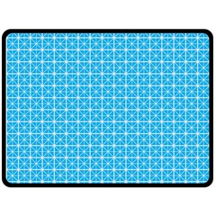 simple rectangular pattern Fleece Blanket (Large)