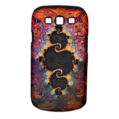The Eye Of Julia, A Rainbow Fractal Paint Swirl Samsung Galaxy S III Classic Hardshell Case (PC+Silicone)