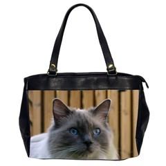 Ragdoll, Blue Office Handbags (2 Sides)