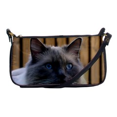 Ragdoll, Blue Shoulder Clutch Bags