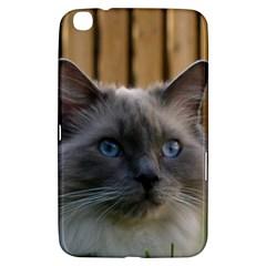 Ragdoll, Blue Samsung Galaxy Tab 3 (8 ) T3100 Hardshell Case