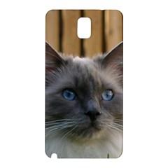 Ragdoll, Blue Samsung Galaxy Note 3 N9005 Hardshell Back Case