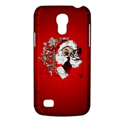 Funny Santa Claus  On Red Background Galaxy S4 Mini