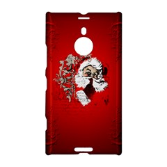 Funny Santa Claus  On Red Background Nokia Lumia 1520