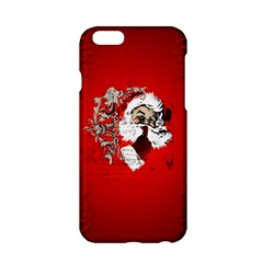 Funny Santa Claus  On Red Background Apple iPhone 6/6S Hardshell Case