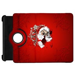 Funny Santa Claus  On Red Background Kindle Fire HD 7