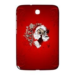 Funny Santa Claus  On Red Background Samsung Galaxy Note 8.0 N5100 Hardshell Case
