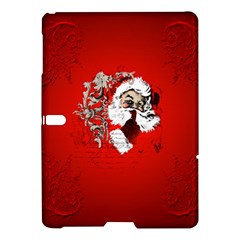Funny Santa Claus  On Red Background Samsung Galaxy Tab S (10.5 ) Hardshell Case