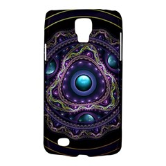 Beautiful Turquoise and Amethyst Fractal Jewelry Galaxy S4 Active