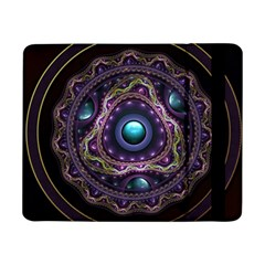 Beautiful Turquoise and Amethyst Fractal Jewelry Samsung Galaxy Tab Pro 8.4  Flip Case