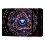 Beautiful Turquoise and Amethyst Fractal Jewelry Samsung Galaxy Tab Pro 10.1  Flip Case Front