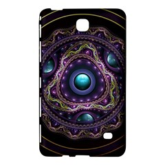 Beautiful Turquoise and Amethyst Fractal Jewelry Samsung Galaxy Tab 4 (7 ) Hardshell Case