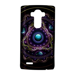Beautiful Turquoise and Amethyst Fractal Jewelry LG G4 Hardshell Case