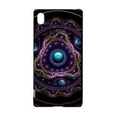 Beautiful Turquoise and Amethyst Fractal Jewelry Sony Xperia Z3+