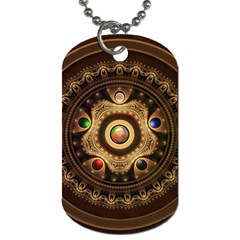 Gathering the Five Fractal Colors Of Magic Dog Tag (Two Sides)
