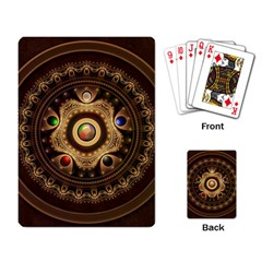 Gathering the Five Fractal Colors Of Magic Playing Card