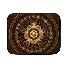 Gathering the Five Fractal Colors Of Magic Netbook Case (Small)