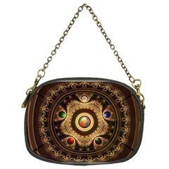 Gathering the Five Fractal Colors Of Magic Chain Purses (Two Sides)