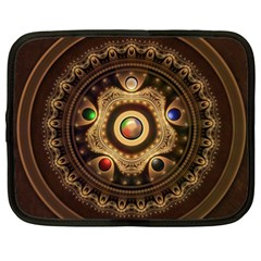 Gathering the Five Fractal Colors Of Magic Netbook Case (XXL)