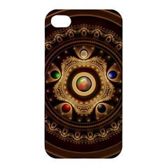 Gathering the Five Fractal Colors Of Magic Apple iPhone 4/4S Hardshell Case
